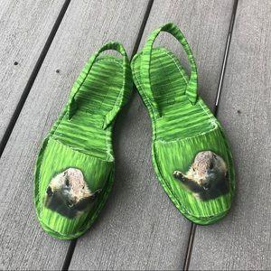 Jeffrey Campbell Ibiza Squirrel Printed Sandal